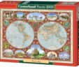 "Puzzle Castorland ""World Map"" 2000 kom"