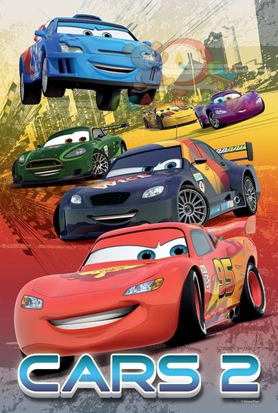 trefl puzzle cars 2 - slika