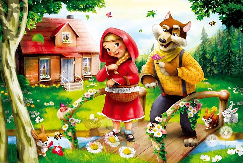 trefl puzzle crvenkapica - slika