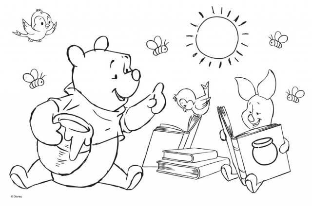 trefl puzzle winnie the pooh 2x puzzles - slika1