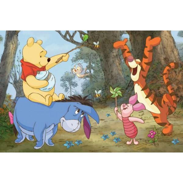 trefl puzzle winnie the pooh 2x puzzles - slika4