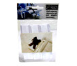 Mašna potez-leptir tekstilna bijela