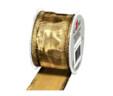 Ukrasna vrpca zlatna 40×2