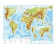 Zemljopisna karta (zemljovid) Svijeta