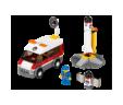 Lego City Rampa za lansiranje satelita