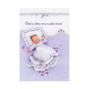čestitke za rođenje curice Čestitka za rođenje djeteta | | Papirnica California čestitke za rođenje curice